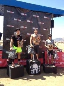 Top 3 men Spartan Colorado
