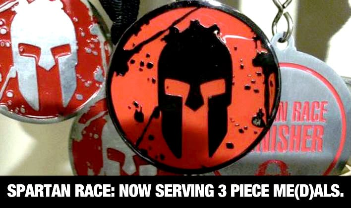 3 New Spartan Race Medals for 2014
