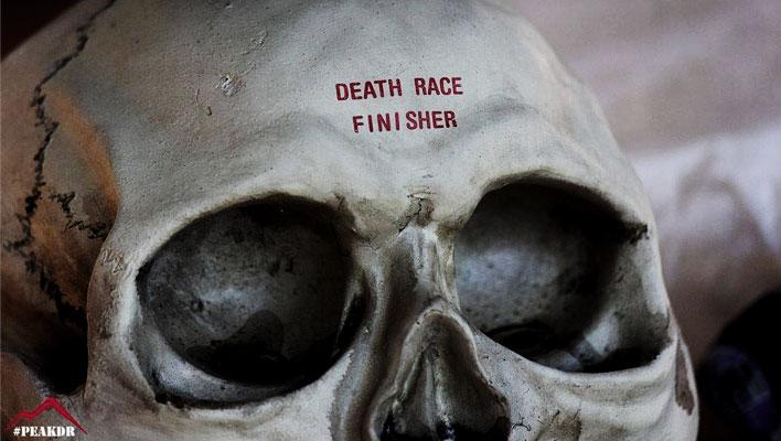 Death Race Finisher Skull
