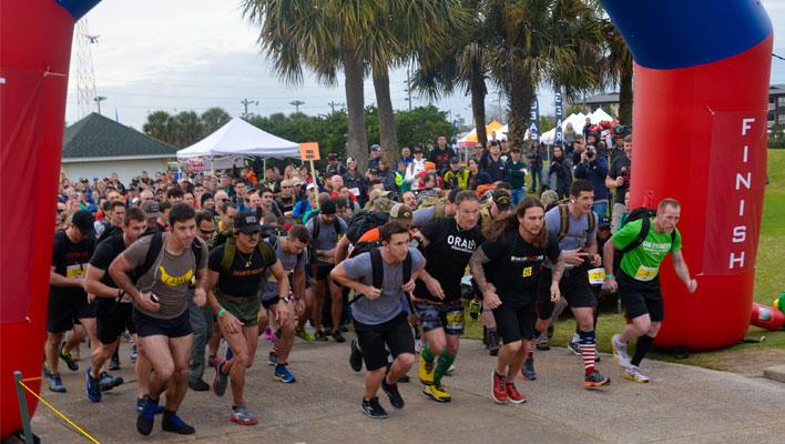 Kill That 5K elite division race start
