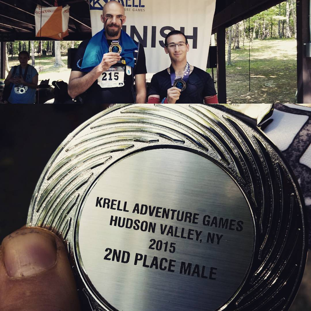 Krell Adventure Games Finshers and Medal
