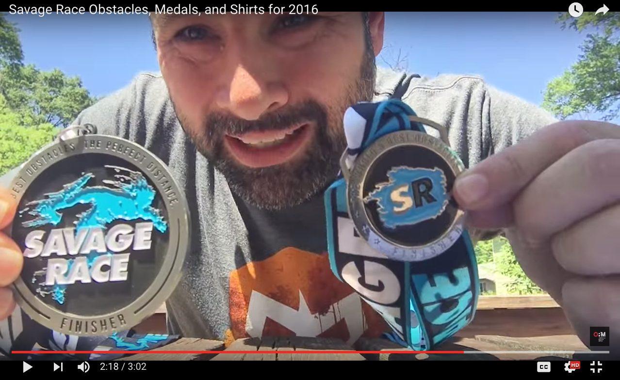 Savage Race Medals
