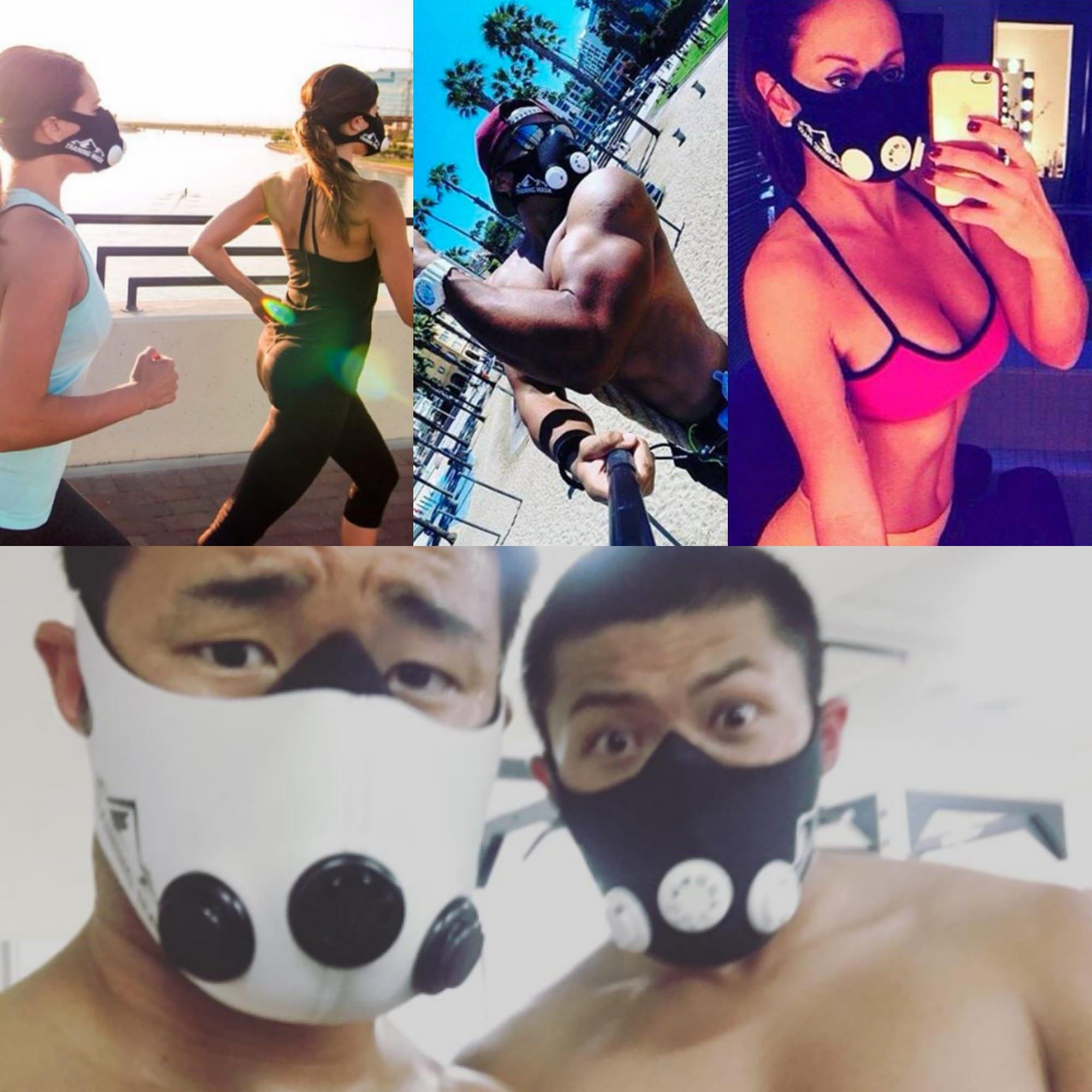 Training Mask Podcast Collage
