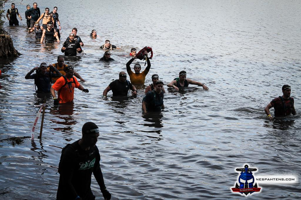 Spartan Race - Killington UB - Water Crossing
