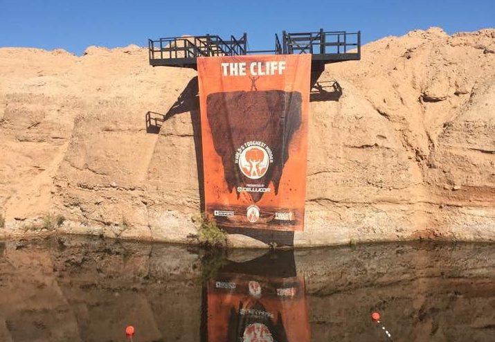 Worlds Toughest Mudder 2016 - The Cliff