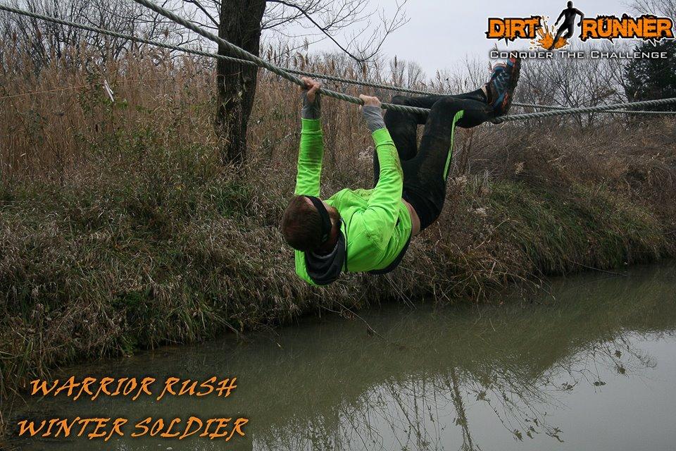 Dirt Runner Winter Warrior - Tyrolean Traverse