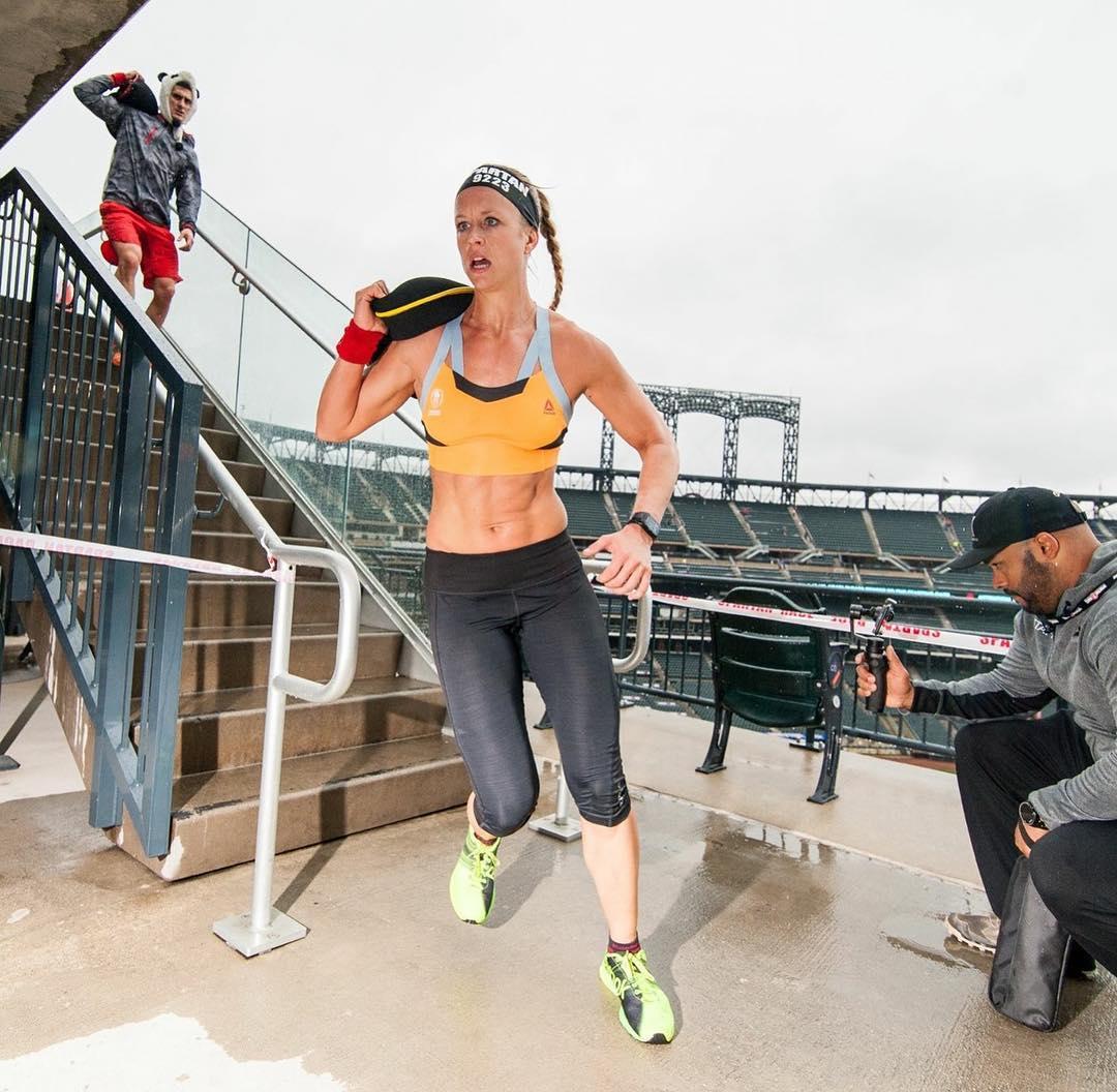 Spartan Race Citi Field Sprint 2017 - Cassidy Watton Sandbag Carry