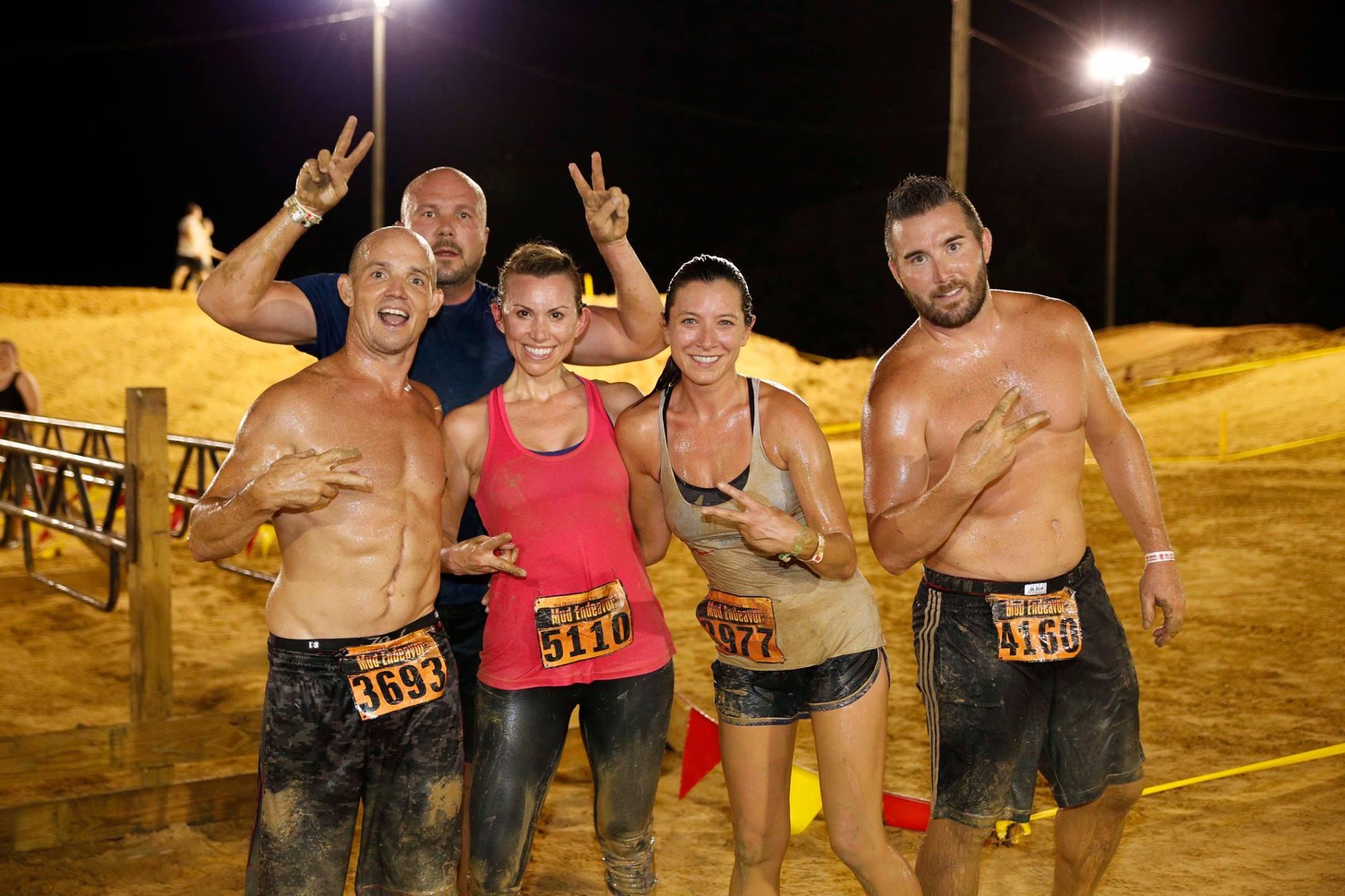 Mud Endeavor - Under the Lights - Athletes