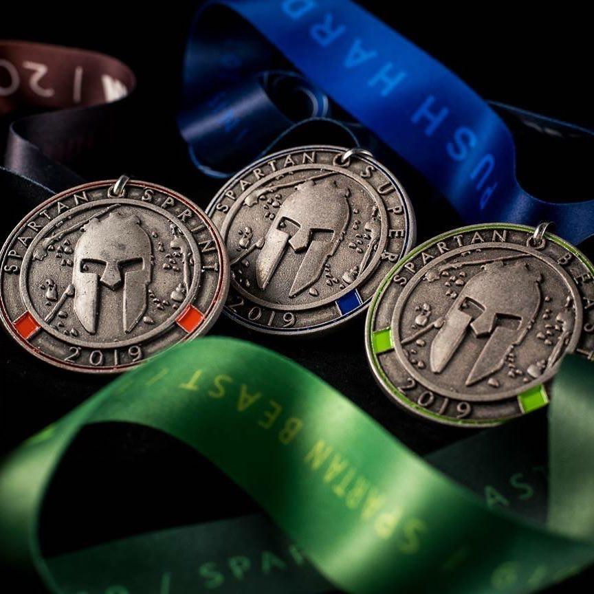 Spartan 2019 Medals