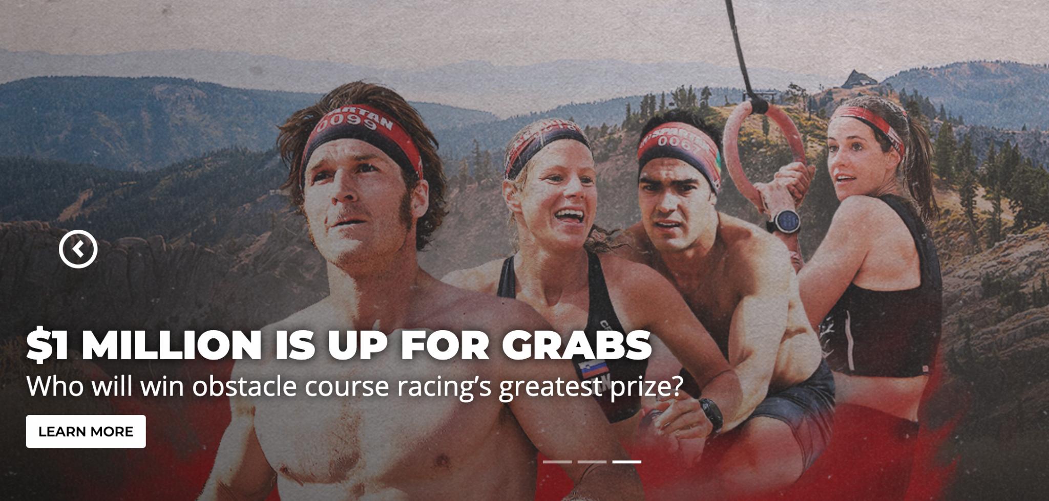 Spartan Race 1 Million Dollar Purse