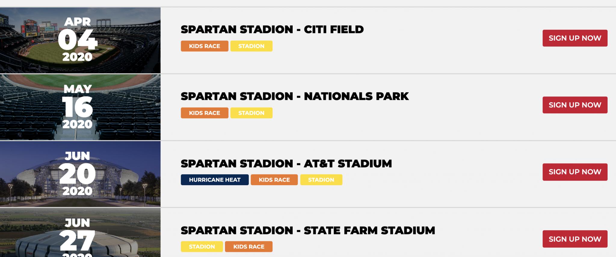 Spartan Stadion Series