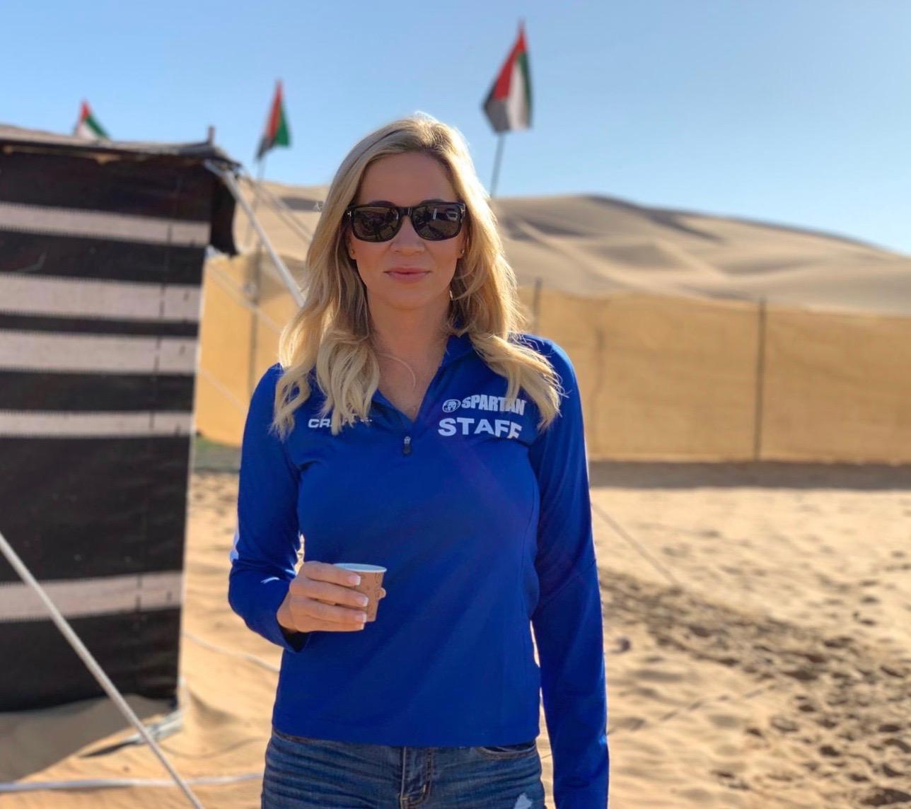 Abu Dhabi Spartan Cherie Bortnick