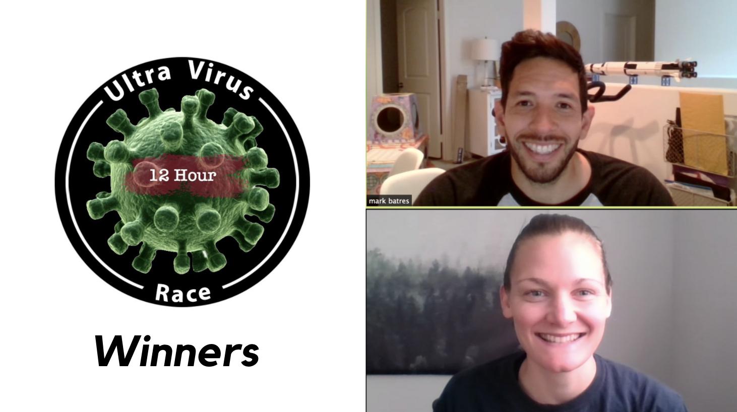 UltraVirus 12 Hour Race Winners