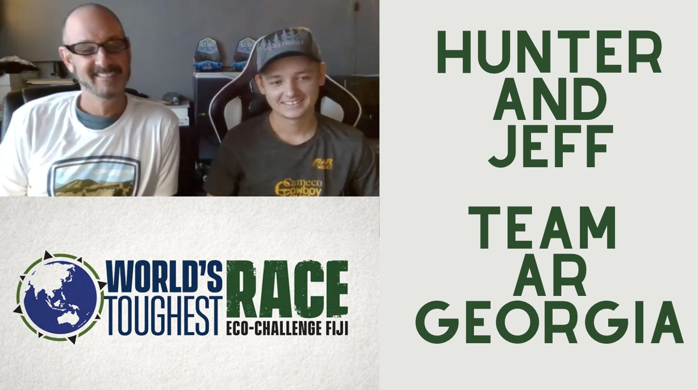 Eco Challenge Team AR Georgia Hunter and Jeff