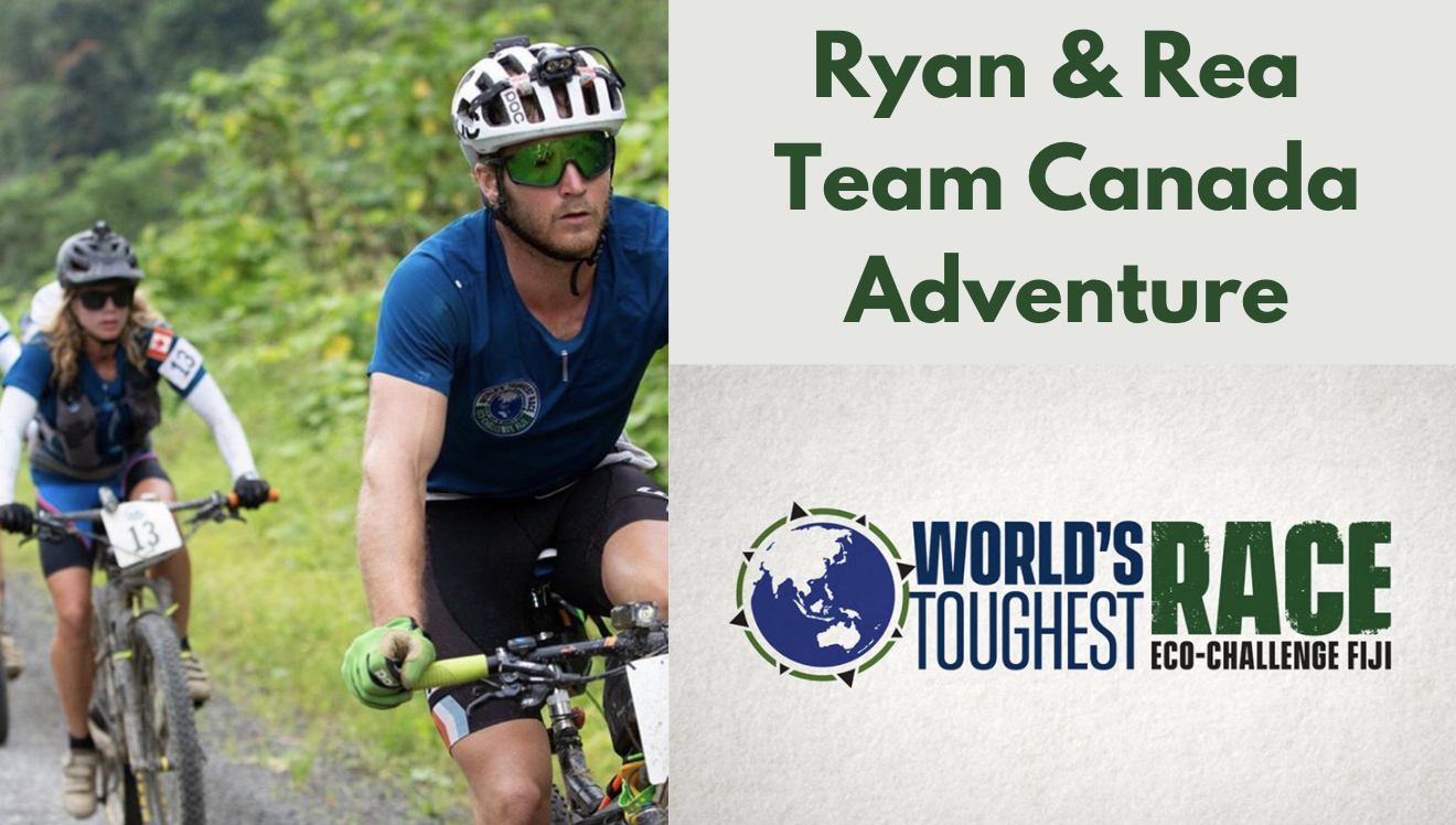 Ryan Atkins and Rea Kolbl Eco Challenge
