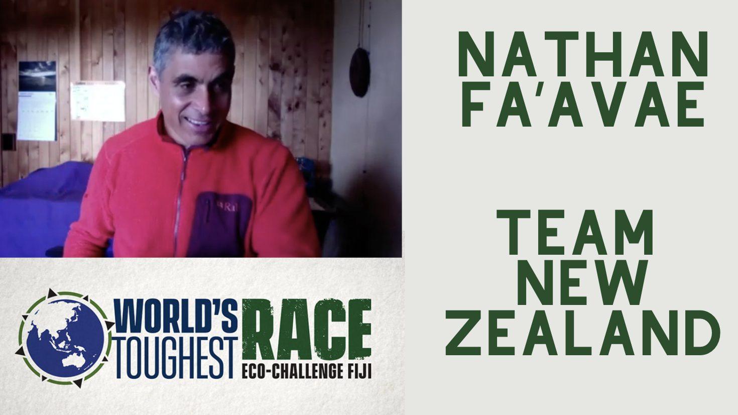 Nathan Fa'avae Eco Challenge Team New Zealand