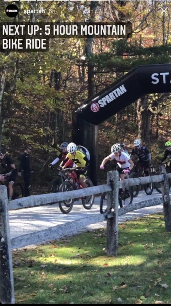 Spartan Games Bike Race