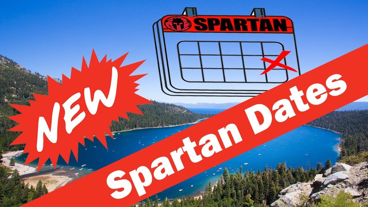 New Spartan Dates